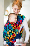 Baby Wrap, Jacquard Weave (100% cotton) - JOYFUL TIME- size XS