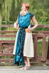 Baby Wrap, Jacquard Weave (100% cotton) - Divine Lace  - size L (grade B)