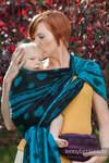 Baby Wrap, Jacquard Weave (100% cotton) - Divine Lace  - size S (grade B)