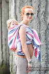 Baby Sling, Broken Twill Weave (bamboo + cotton) - Marine - size XL (grade B)