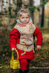Doll Carrier made of woven fabric, 100% cotton  - COLORS OF FALL