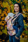 Ergonomic Carrier, Baby Size, crackle weave 100% cotton - wrap conversion from QUARTET - Second Generation