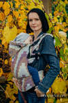 Ergonomic Carrier, Baby Size, crackle weave 100% cotton - wrap conversion from TRIO - Second Generation