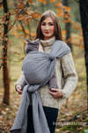 Baby Wrap, Jacquard Weave (100% cotton) - LITTLE LOVE - MYSTERY - size S (grade B)