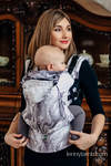 Ergonomic Carrier, Toddler Size, jacquard weave 100% cotton - wrap conversion from GALLOP - Second Generation