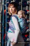 Baby Wrap, Jacquard Weave (100% cotton) - MOSAIC - AURORA - size S
