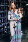 Baby Wrap, Jacquard Weave (100% cotton) - MOSAIC - AURORA - size XL