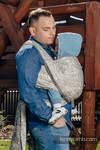 Żakardowa chusta do noszenia dzieci, bawełna - PANORAMA - rozmiar L