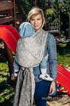 Żakardowa chusta do noszenia dzieci, bawełna - PANORAMA - rozmiar XL