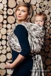 Baby Wrap, Jacquard Weave (100% cotton) - BEIGE CAMO - size M (grade B)