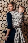 Baby Wrap, Jacquard Weave (100% cotton) - BEIGE CAMO - size XL