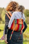 Lenny Buckle Onbuhimo Tragehilfe, Größe Toddler, Kreuzköper-Bindung (100% Baumwolle) - AUTUMN