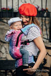 Ergonomic Carrier, Toddler Size, jacquard weave 100% cotton - wrap conversion from CITY OF LOVE - Second Generation