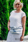 Saszetka z tkaniny chustowej, rozmiar large (100% bawełna) - RAJSKA WYSPA