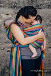 Baby Sling, Broken Twill Weave (bamboo + cotton) - Paradiso - size XL