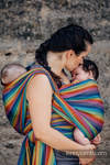 Baby Sling, Broken Twill Weave (bamboo + cotton) - Paradiso - size S