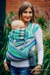 WRAP-TAI carrier Toddler with hood/ herringbone twill / 100% cotton / LITTLE HERRINGBONE AMAZONIA