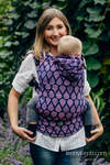Ergonomic Carrier, Toddler Size, jacquard weave 100% cotton - JOYFUL TIME WITH YOU - Second Generation