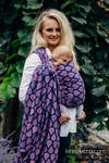 Baby Wrap, Jacquard Weave (100% cotton) - JOYFUL TIME WITH YOU - size S