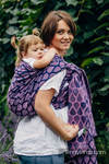 Baby Wrap, Jacquard Weave (100% cotton) - JOYFUL TIME WITH YOU  - size XS