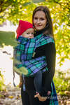 WRAP-TAI carrier Mini, twill weave - 100% cotton - with hood, COUNTRYSIDE PLAID