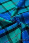 Nosidełko dla lalek z tkaniny chustowej - SIELSKA KRATA