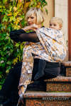 Baby Wrap, Jacquard Weave (100% cotton) - WHIFF OF AUTUMN - size XL