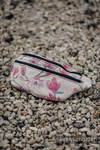 Waist Bag made of woven fabric, size large (100% cotton) - MAGNOLIA