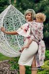 Żakardowa chusta do noszenia dzieci, 100% bawełna - MAGNOLIA - rozmiar M