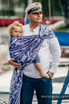 Baby Wrap, Jacquard Weave (100% cotton) - SEA STORIES - size M