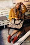 Big Handbag - Private Area - HARVEST (64% cotton, 34 % viscose, 2% metallised yarn)