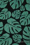 LennyUpGrade Carrier, Standard Size, jacquard weave (78% cotton 22% silk) - MONSTERA - URBAN JUNGLE