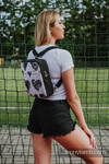 Backpack/Crossbody Bag 2in1  SPORTY, (56% cotton, 44% viscose) - LOVKA CLASSIC