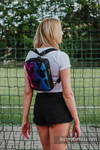 Backpack/Crossbody Bag 2in1  SPORTY, (56% cotton, 44% viscose) - LOVKA PINKY VIOLET