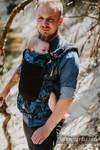Porte-bébé en maille LennyUpGrade, taille standard, jacquard (75% coton, 25% polyester) - CLOCKWORK PERPETUUM