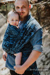 Baby Wrap, Jacquard Weave (100% cotton) - CLOCKWORK PERPETUUM - size XL