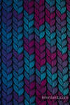Mochila LennyPreschool, talla preschool, tejido jaqurad 100% algodón - TANGLED IN LOVE