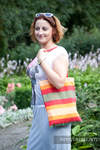 Shopping bag made of wrap fabric (100% cotton) - Autumn (grade B)