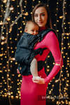 Porte-bébé LennyUpGrade, taille standard, jacquard, 100% coton - DRAGON - DRAGONWATCH