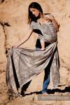 Żakardowa chusta do noszenia dzieci, bawełna - Na Krańcu Świata - rozmiar L