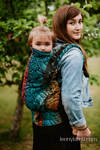 LennyPreschool Carrier, Preschool Size, jacquard weave 100% cotton - WILD SOUL - DAEDALUS