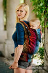 LennyPreschool Carrier, Preschool Size, jacquard weave 100% cotton - NOVA - DRAGON SCALE - AGATKA
