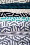 Skrawki materiałów chustowych - tkaniny żakardowe z Kolekcji Basic