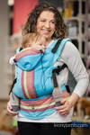 Ergonomic Carrier, Baby Size, broken-twill weave 60% cotton 40% bamboo -  CORFU - Second Generation.