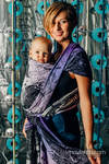 Baby Wrap, Jacquard Weave (100% cotton) - WEAVING CHALLENGE - LIFELONG - size S
