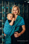 Baby Wrap, Jacquard Weave (100% cotton) - WEAVING CHALLENGE - MOTHERBOARD - size XL