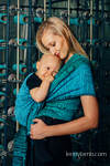 Baby Wrap, Jacquard Weave (100% cotton) - WEAVING CHALLENGE - MOTHERBOARD - size S