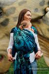 Baby Wrap, Jacquard Weave (100% cotton) - JURASSIC PARK - size L