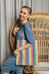 Bolsa de la compra hecho de tejido de fular (100% algodón) - LUNA