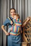 LennyGo Ergonomic Carrier, Baby Size, broken-twill weave 100% cotton - LUNA
